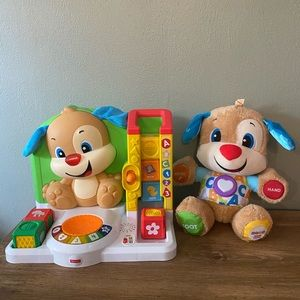 LOT Fisher-Price Laugh & Learn Puppy